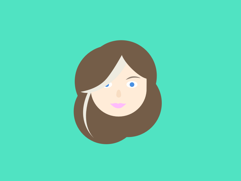 Face fun illustration avatar
