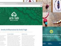 Alta Fair Website
