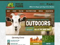 Maahaa ... Crumland Farms Homepage