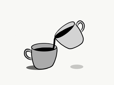 That Monday Feeling hand drawn adobe draw cups monday but first coffee coffee