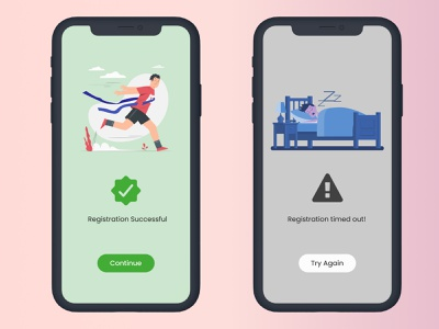 Flash Message - #DailyUI #011 tech android design uxui mockup illustration microinteraction ui userinterface uidesign flashmessage user experience 011 dailyuichallenge dailyui011 dailyui interaction design design productdesign figmadesign figma