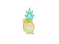Pineapple Strong© logo