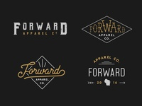 Forward Logo Mockups