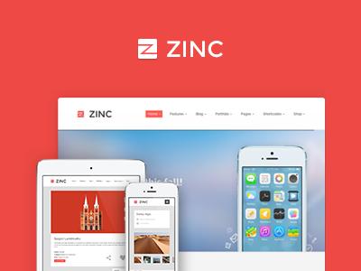 Zinc - Multi-purpose theme wordpress theme restaurant web zinc theme zinc travel website travel photography woocommerce shop shopping medicine medical