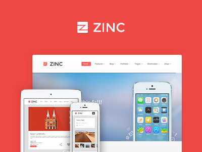Zinc - Multi-purpose theme