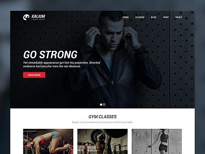 Fitness Site pilates laborator kalium healthy themeforest theme wordpress sports gym fitness