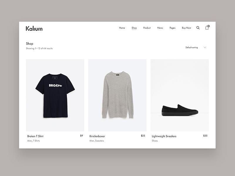 Minimal Shopping Theme website fashion wordpress theme wp themes templates web design minimal