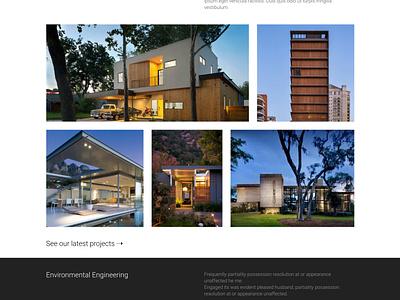 Minimalist Architecture Website envato themeforest wordpress website theme exterior interior arch architects architecture minimalist minimal