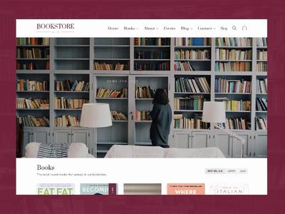 Bookstore Site