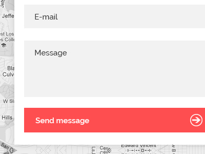 Metro Contact Form contact form input field text send message contact form winwows8 windows 8 minimal white light theme