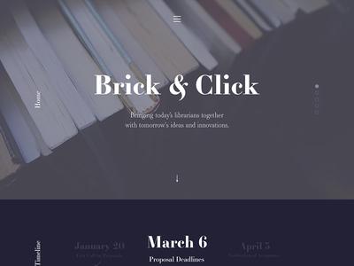 Site Revisitation, 2017 responsive web ux ui layout landing page concept website clean