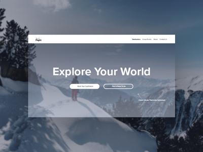 Landing Page // Daily UI 003