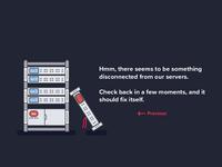 Server Error Page