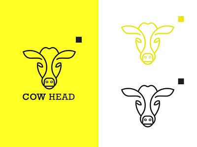 Cow Logo illustration design logo design logos logotype logo