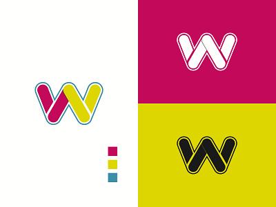 w simple logo w logo design logo design logo
