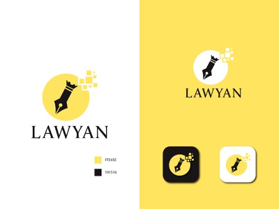 Lawyan Logo logos logotype logo design logodesign logo