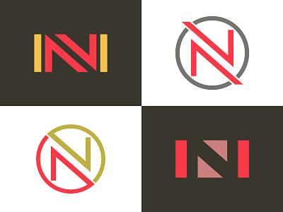 N Logo logotype logos design logo design logodesign logo