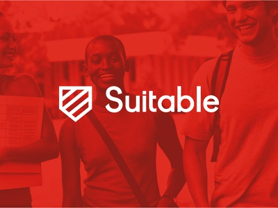 Suitable Logo pittsburgh logotype chart shield tie education startup app branding logo