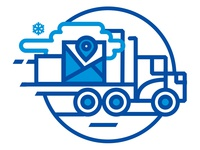Polar 3PL Website Carrier Illustration