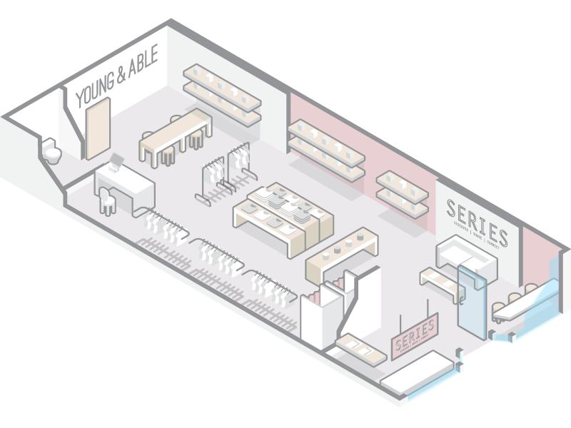 Yna Iso Floor Plan By Sam Li On Dribbble