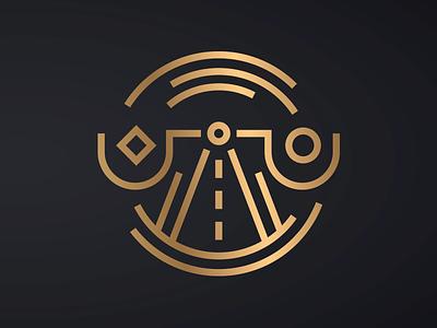 Working title: Justice Road modern heraldry heraldry corporate identity logo branding legal