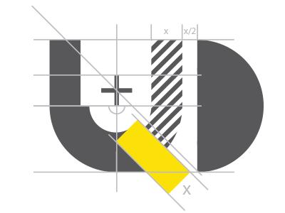 ԱՕ - experimenting with grids logo grid