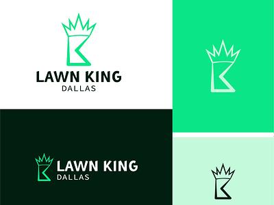DALLAS LAWN KING LOGO design vector illustrator minimalistic logo brand logo company logo five star hotel logo gorgeous logo hotel logo branding icon design logo logodesign logo design