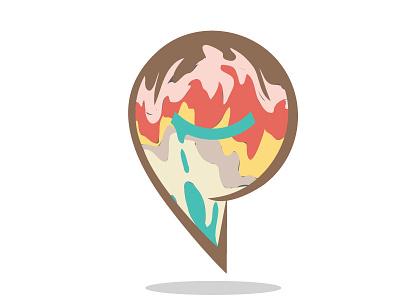 Melted Ice Cream Smiley melted ice cream smiley guy peoplematter logo