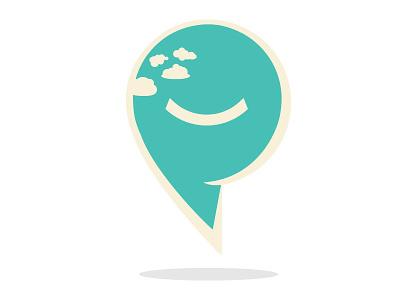 Cloud Smiley smiley guy logo peoplematter cloud