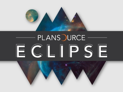 Plansource Eclipse Branding banner eclipse conference event branding logo