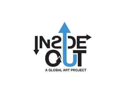 Insideout arrows type helvetica inside out