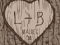 L&B Malbec 2018 Wine Label 2