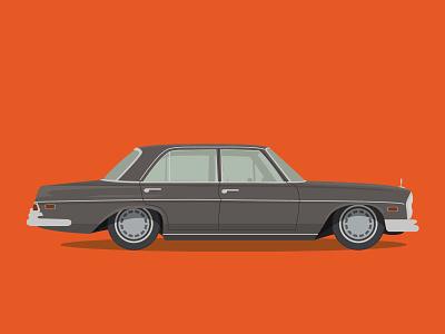 Benz mercedes 280se w108