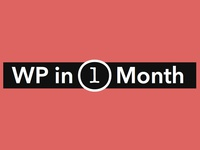 WP in One Month Logo
