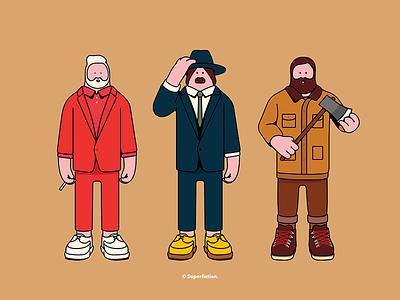 Scott, Freddy & Nick | Graphic Novel novel graphic illustration art