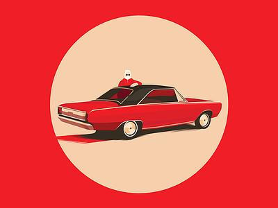 Nick | Graphic Novel dodge car graphic arttoy illustration art