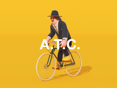 ART TOY CULTURE 2016, Seoul  bicycle 3d graphic arttoy illustration art