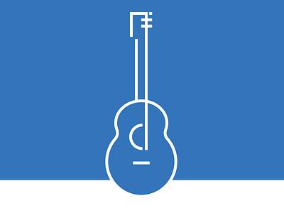 Guitar guitar icon vector outline