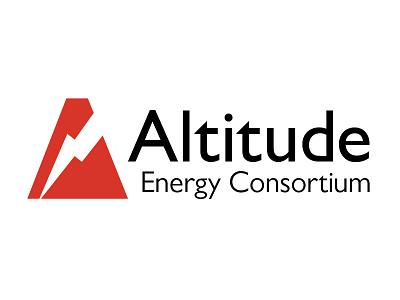 Altitude Energy Consortium logo branding classwork