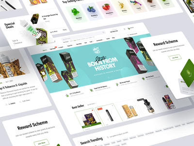 Gourmet E-Liquid UK Shopify Store Redesign (Approved Concept) gourmet eliquid gourmet ui website pod cigarette vaping eliquid shop ecommerce shopify