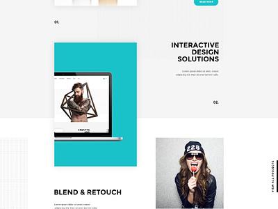 Polar - Creative Studio hipster web site design corporate business agency portfolio creative