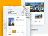Kons - Construction Firm Website