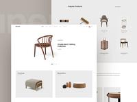 Unero - Simple Homepage