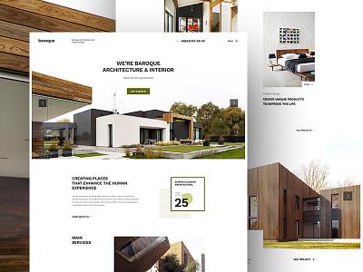 Baroque - Architecture Firm building portfolio interior architect architectural architecture