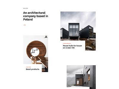 Architecture Firm - Minimal Concept theme site portfolio studio firm interior architecture architect baroque
