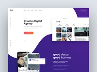 Ave Agency Concept