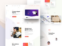 Ave Creative Agency Concept 2