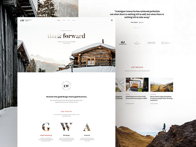 Lewis Studio - Zoom Parallax Effect blog ui modern clean natural animation envato parallax theme studio agency creative portfolio