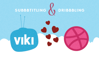 Viki is in ❤ with Dribbble