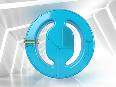 Some logo in 3D logo illustration 3d art